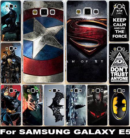 Гаджет  Hot Sale  Case For Samsung Galaxy E5 SM-E500F E500H E500HQ E500M New Painted Pattern Hard Case  Cover None Телефоны и Телекоммуникации