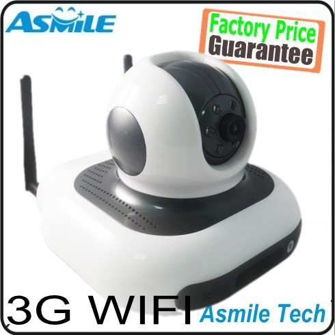 dual antenna 3G Camera 3G network camera surveillance camera HD support android iphone windows pc(China (Mainland))