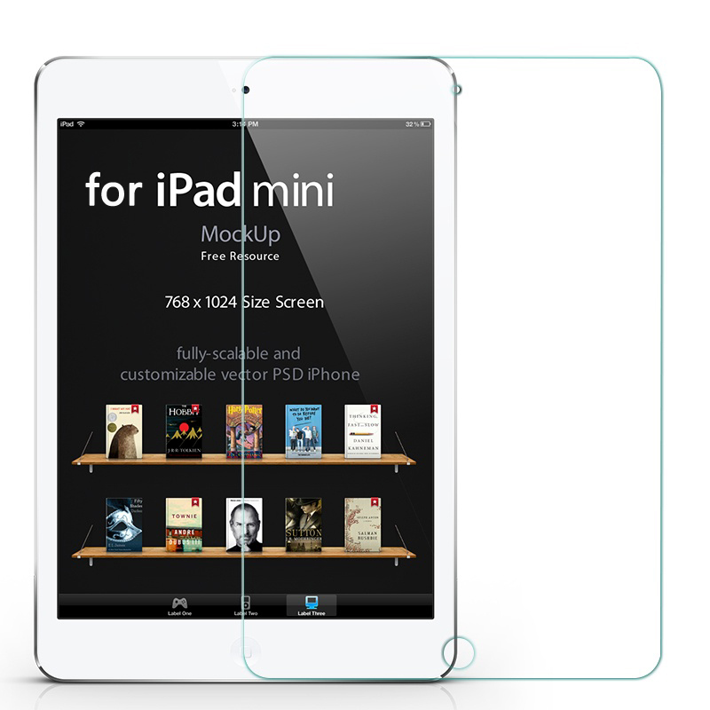 Screen Protector 0.3mm Premium Tempered Glass For iPad 2 3 4 Air 1 2 And ipad mini 1 2 3 4 Tablet PC 9H 2.5D with Clean Tools(China (Mainland))