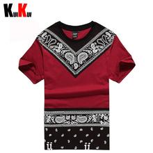 2015 Fashion Tyga Last Kings Mens Rock UNKUT T-Shirt Men Cotton Casual Brand Bandana T Shirts Man Hip Hop Skateboard Tee Shirt