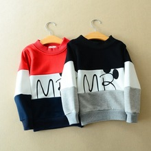 Retail Autumn-Spring sweatshirt children hoodies Girls Boy clothes cotton sports suit Letter hoodie minion kids clothing(China (Mainland))