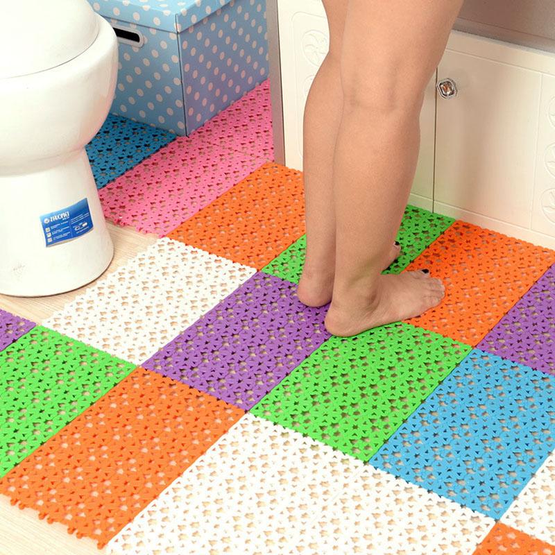 30*20cm Non-slip Rubber Floor Mats Bathroom Carpet Plastic Bath Mat tapete de banheiro(China (Mainland))