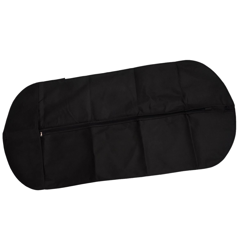 SZS Wholesale Black Travel Suit Wedding Cover Skirt Dress Garment Coat Shirt Bag Carrier Free Shipping(China (Mainland))