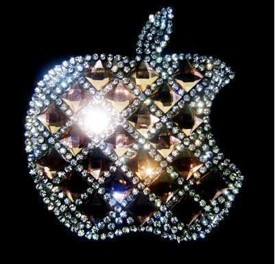 Free shipping (4pc/lot) Apple Rhinestones Starfis Motif Design Iron On Transfer Motifs Crystal Strass Stone with glue(China (Mainland))