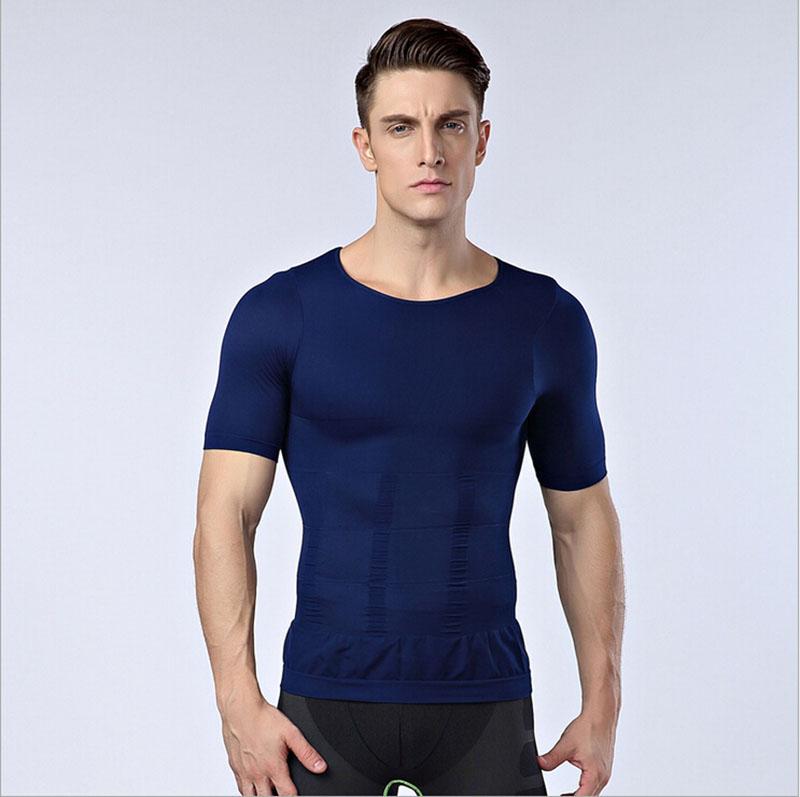 Mens Bodysuit Shirt Sliming Shirt For Men Body