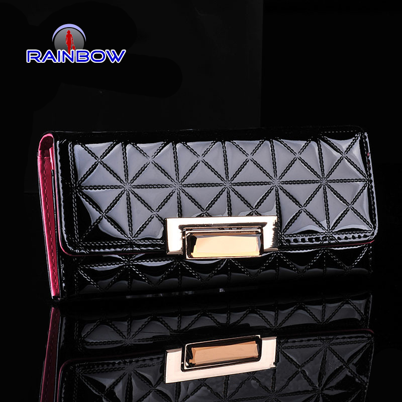 2015 Women fashion leather wallet women long wallets famous brand designer purses for women With High Quality(China (Mainland))