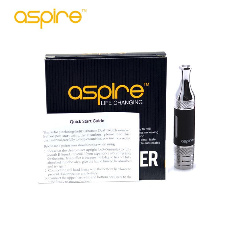 Original Aspire ET-S BVC Coil Portable Vaporizer 5Pcs/Lot Aspire ETS E-cigarette Ego Clearomizer Electronic Cigarette(China (Mainland))