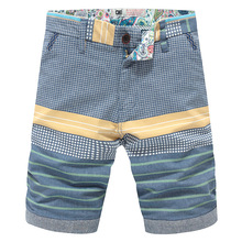 High quality 2016 Summer New fashion men's Shorts Men casual Sport Shorts cotton Men striped solid color Short pants beach surf