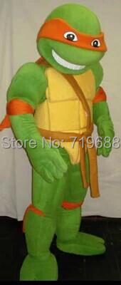 High quality Teenage Mutant Ninja Turtle Mascot Costume Adult Character Costume free shipping(China (Mainland))