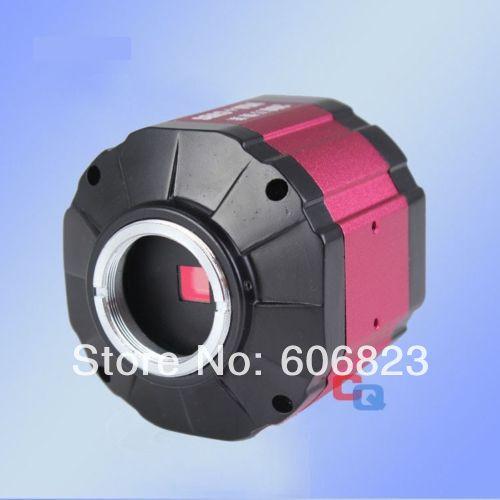 2.0MP HD C-mount Industry Microscope Digital Camera VGA AV TV Video Output Lab(China (Mainland))