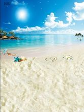 Free 5*7ft Sea and beach backdrop 1602,wedding love background backdrop,photography backdrops for photo studio
