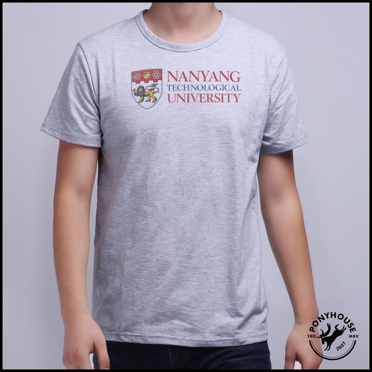 Гаджет  2015H XAF TECHNOLOGICAL UNIVERSITY Nanyang Technology University male short sleeved T-shirt None Изготовление под заказ