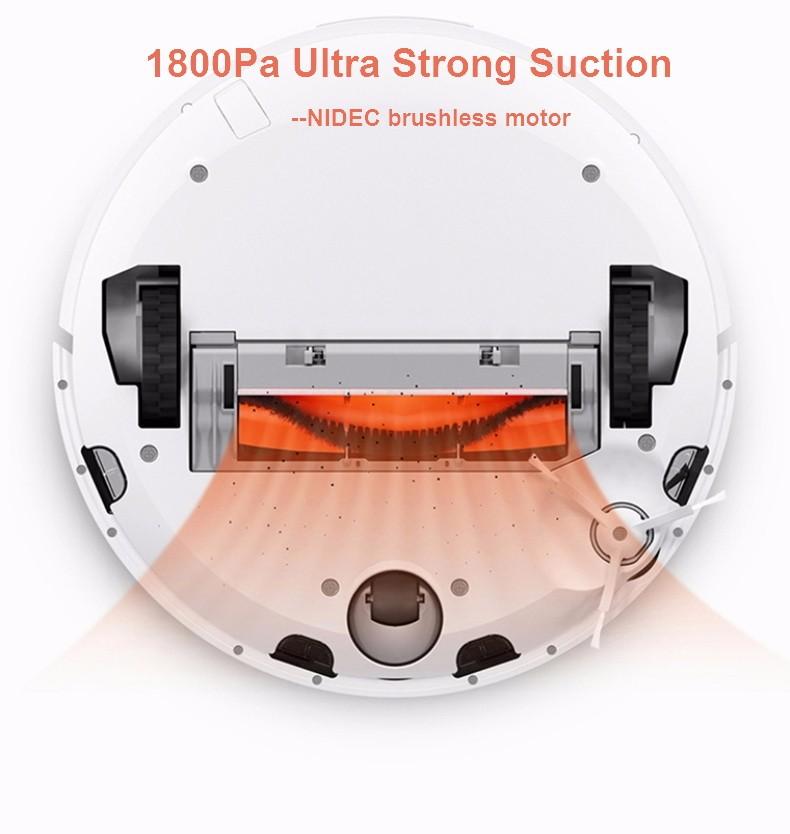 2016 XIAOMI Robotic Vacuum Cleaner MIHOME Original Planned Type ASPIRADOR, LDS Scan Mapping WiFi app Control