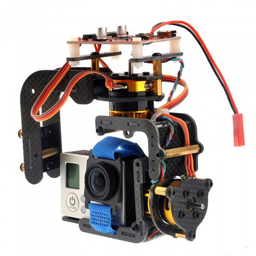 Brushless Camera Gimbal for Gopro Hero 3 3+ DJI Phantom with Motors & Controller