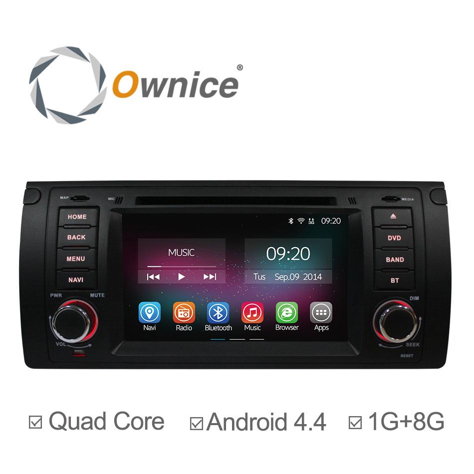 Ownice C200 Quad Core Android 4.4 Car DVD Radio For BMW E39 E53 Range Rover Bluetooth Retrofit Kits with GPS Navigation Video(China (Mainland))
