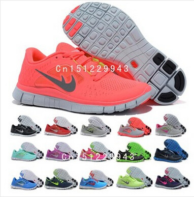 Free shipping 2015 NEW Wholesale Free run 5.0 V3 Running Shoes Athletic Training women&Men discount brand name shoes size 36-45(China (Mainland))