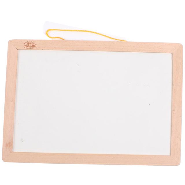 Children's educational early childhood multifunctional magnetic hanging wooden blackboard drawing board WordPad