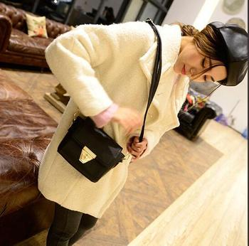 Fashion women's lock messenger bags 2015 Summer small shoulder bags Korean casual handbags lady small bag