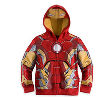 The Avengers Iron Man Children Hoodies Sweatshirt Boys Girls Spring Autumn Coat Kids Long Sleeve Casual