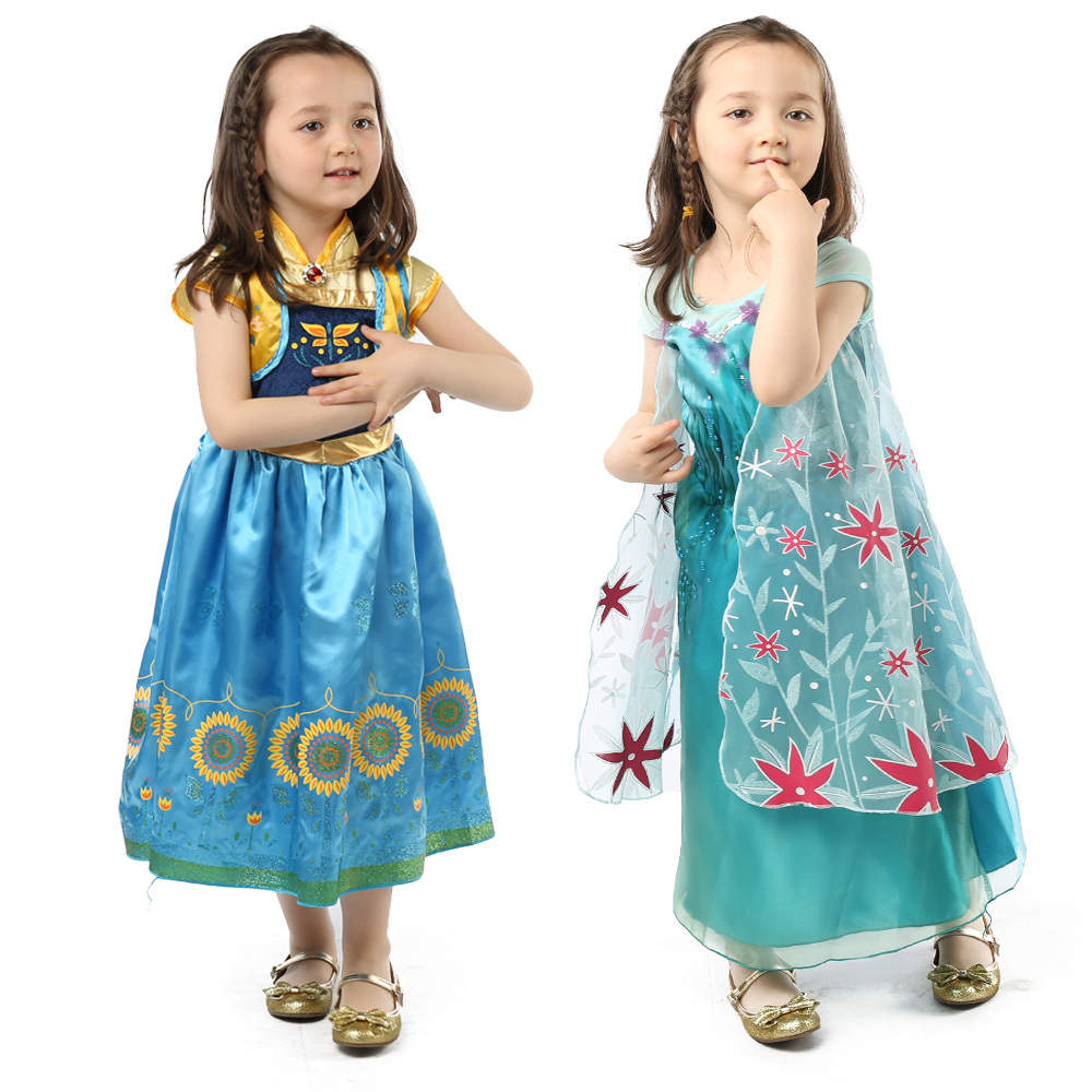 New Baby Girl Dress Children Brand Princess Lace Dress Kids Casual Cosplay Costume Robe Vestidos Infantis Halloween Clothes(China (Mainland))
