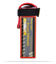 You&me LiPo Li-Poly Battery 5000mAh 18.5V 50C Max 100C For RC helicopters Cars Drone