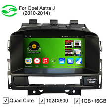 HD 1024*600 Pixel Quad-Core Pure Android 4.4 Car PC For Opel Astra J With DVD GPS Bluetooth DVR 3G WiFi(China (Mainland))