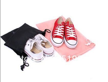 Drop Shipping 2pcs/set EVA Travel Pouch Fold Storage Bag Air Mail Pack for Underwear/shoes/socks