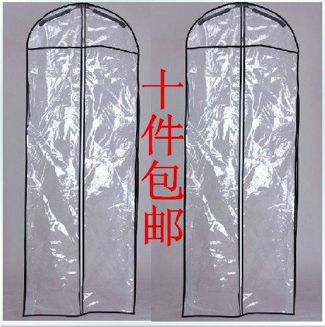 Wedding dress bag / clothes cover / dust cover / garment bags / bridal gown bag / wedding dress cover 20pcs/lot(China (Mainland))