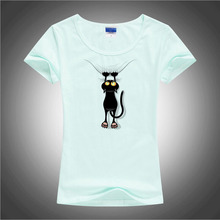 Naughty Black Cat T-shirt