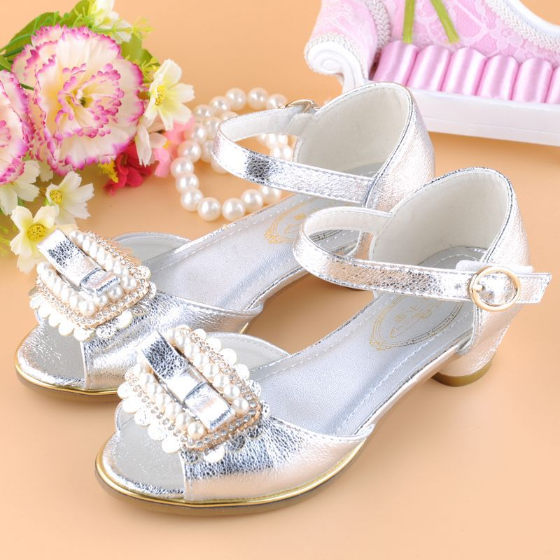 2015 summer style high heeled shoes princess