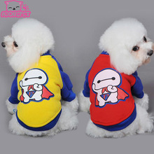 Buy Cute cartoon Dog pet cat hoodie shirt clothing winter warm small dog sport jacket coat sweatshirts Chihuahua dog clothes costume for $3.83 in AliExpress store