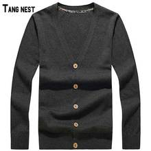 Men Cardigan 2016 New Arrival Men's Casual Solid V-neck Knitted Cardigan Male Single Breasted Solid Cadigan 3Colors M-3XL MZL496(China (Mainland))