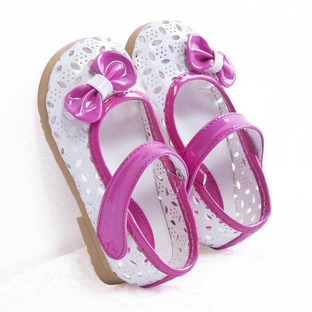 Дети детские сандалии 1 - 3 возраст ребенка отверстие обувь для девочек принцесса ...