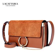 La Cattura Brand Original Quality Genuine Genuine Leather Lady Bags 2016 Brand Hot Sale New Fashion Drew Bag Handbags Women Bags