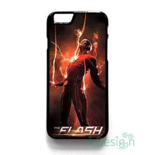 Fit for iPhone 4 4s 5 5s 5c se 6 6s 7 plus ipod touch 4/5/6 back skins cellphone case cover THE FLASH HOT