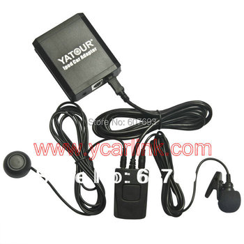 Yatour Bluetooth module(YT-BTM)+Remote control(YT-REMO)+iPod Car Adapter(YT-M05) for multi choices