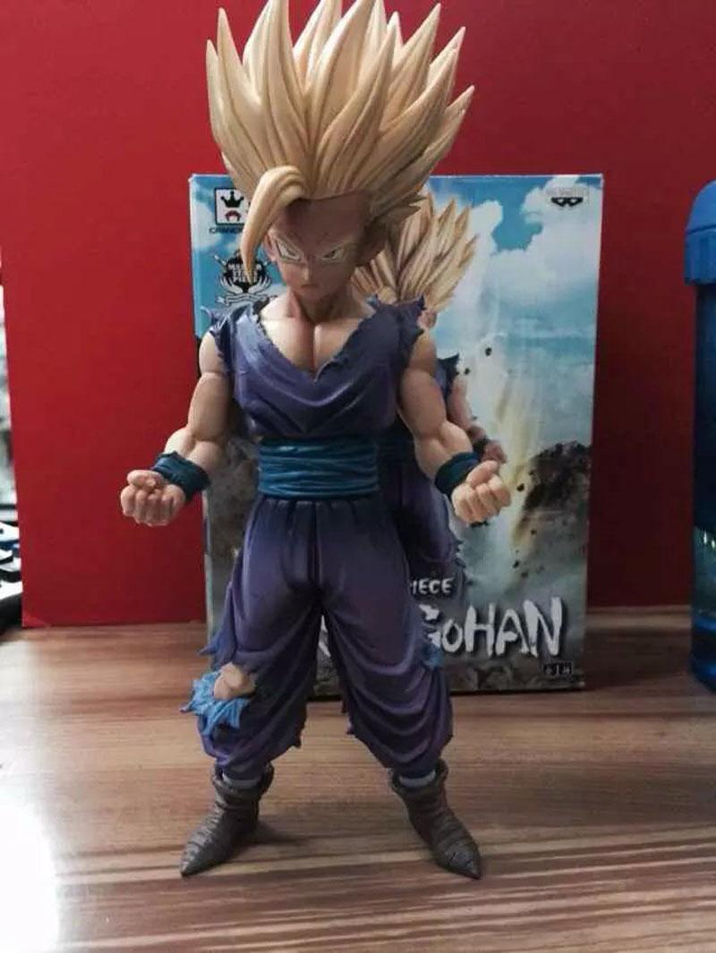Anime Dragon Ball Z/Kai Super Saiyan MSP Son Gohan PVC Action Figure Master Stars Piece Collection Model Children Gift(China (Mainland))