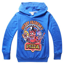 Kids Sport Clothes Five Nights at Freddys Children's t-shirt baby Boys Long sleeve Cartoon Minecraft/Minion Hoodies clothes  (China (Mainland))