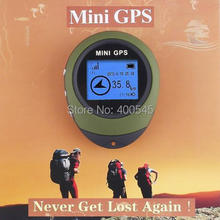 Hot Sale Handheld Keychain PG03 Mini GPS Navigation USB Rechargeable GPS Navigator Compass For Outdoor Sport Travel(China (Mainland))