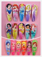 4/6/10 Pcs Snow White Sofia Princess Hair Pin Cute Baby BB Hurora Cinderella Hair Clips Hair Bows Girls Rim Hair Accessories 33(China (Mainland))