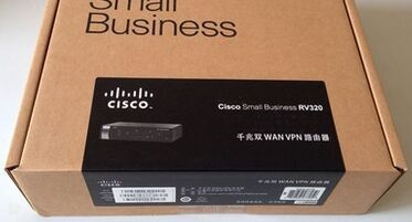 New original Cisco RV320-K9-CN Gigabit Dual WAN VPN Router Gigabit Router(China (Mainland))