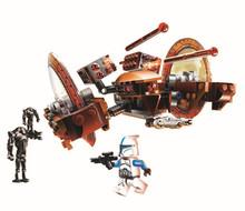 BELA Star Wars Hailfire-class droid tank Figure Toys building blocks set marvel minifigures compatible with legoe