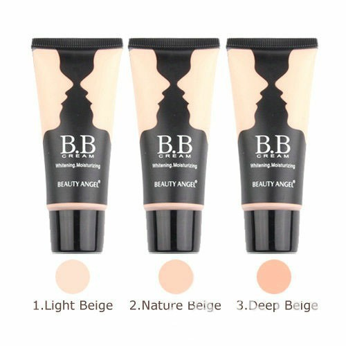 New Arrivals Cosmetics Makeup 3 colors BB Cream Make Up Base + Foundation Bright&Smooth Whitening Moisturizing 40ml #MB814