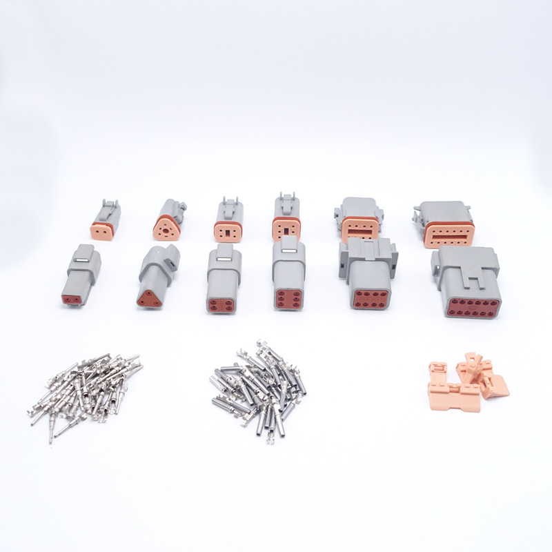 60 Sets 6 Models Deutsch DT06/DT04 2/3/4/6/8/12 Pin Engine/Gearbox Car Auto Waterproof Electrical Connector Shipping Fast<br><br>Aliexpress