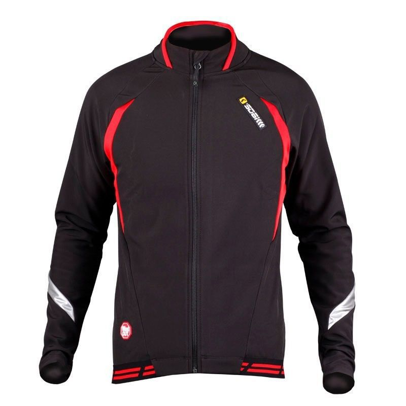 Фотография SOBIKE Winter WINDOUT Fleece Thermal CATHE Bike Bicycle Cycling Cycle Ride Long Sleeve Jersey Jacket-Aurora