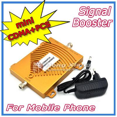 NEW !!! CDMA 850Mhz + PCS 1900MHz Dual Band Mobile Phone Signal Booster , PCS CDMA Signal Repeater , Signal Amplifier + Power(China (Mainland))