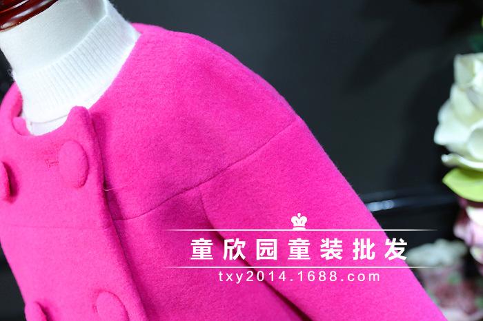 Скидки на Южная Корея 2016 зима новый леди Хан Вентилятор Принцесса шерстяные пальто + шерстяные шорты из двух частей установить бесплатная доставка