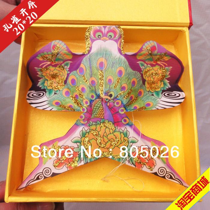 Free shipping Chinese traditional kite 6pcs/lot high quality pocket kite cartoon kite Ornamental kind of kite(China (Mainland))