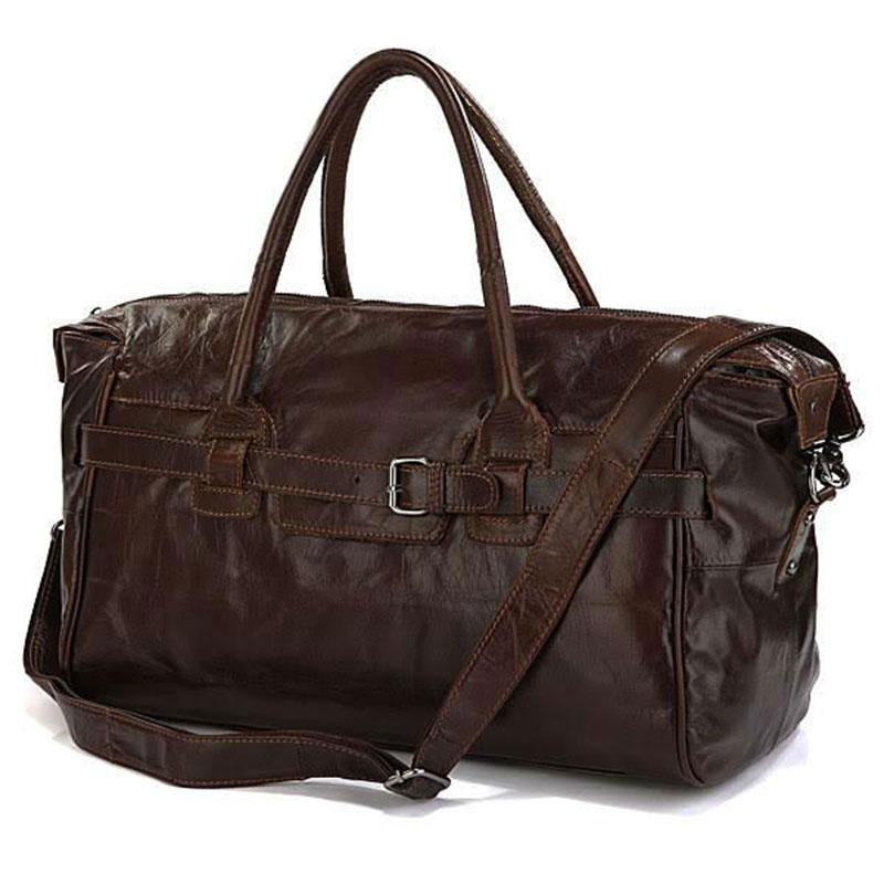 Genuine Leather Vintage Multifunctional Stylish Travel bag Trip Bag Sling Shoulder Bag Handbag PR76<br><br>Aliexpress