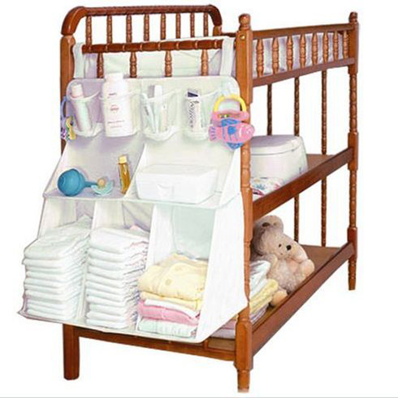 Free Shipping Baby boy girls Bed Hanging organizer Bags bebe storage bedding sets Accessories Diapers bottle underwear clothing<br><br>Aliexpress